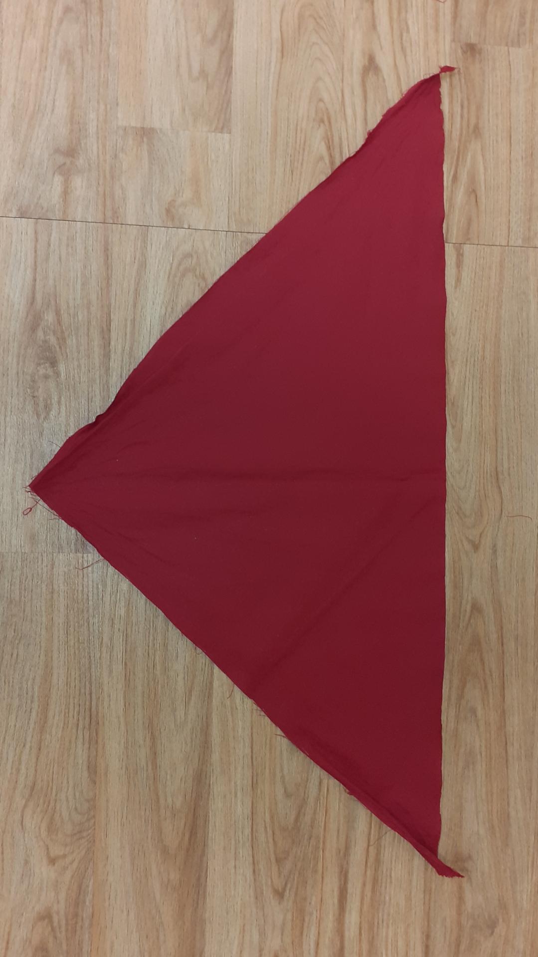 Foulards rouge foncé (x14)