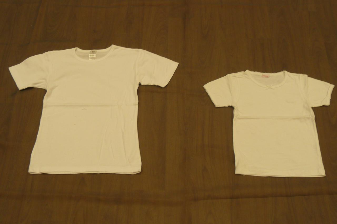 T-shirts blanc - 4/6ans