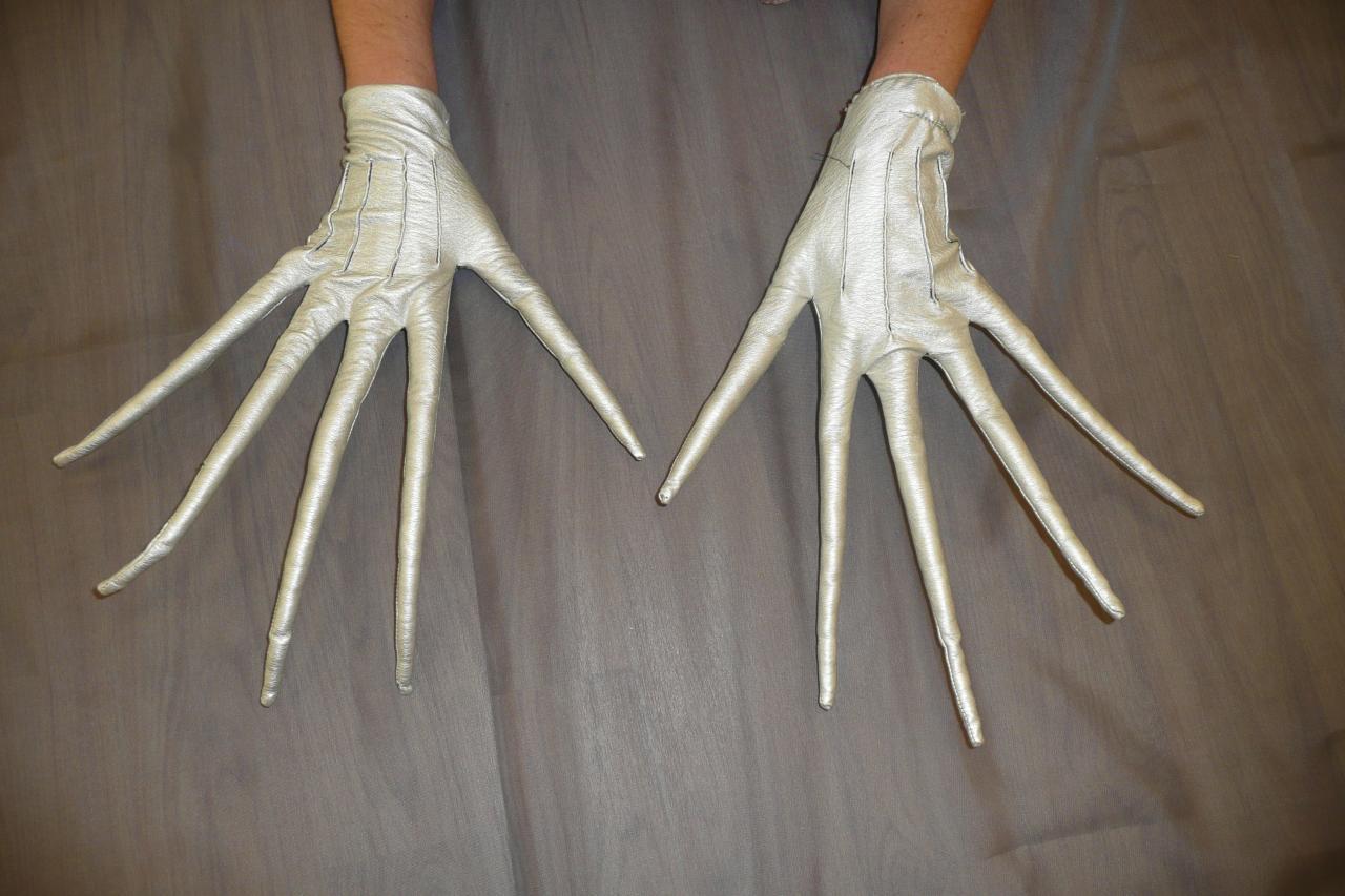 Gants doigts